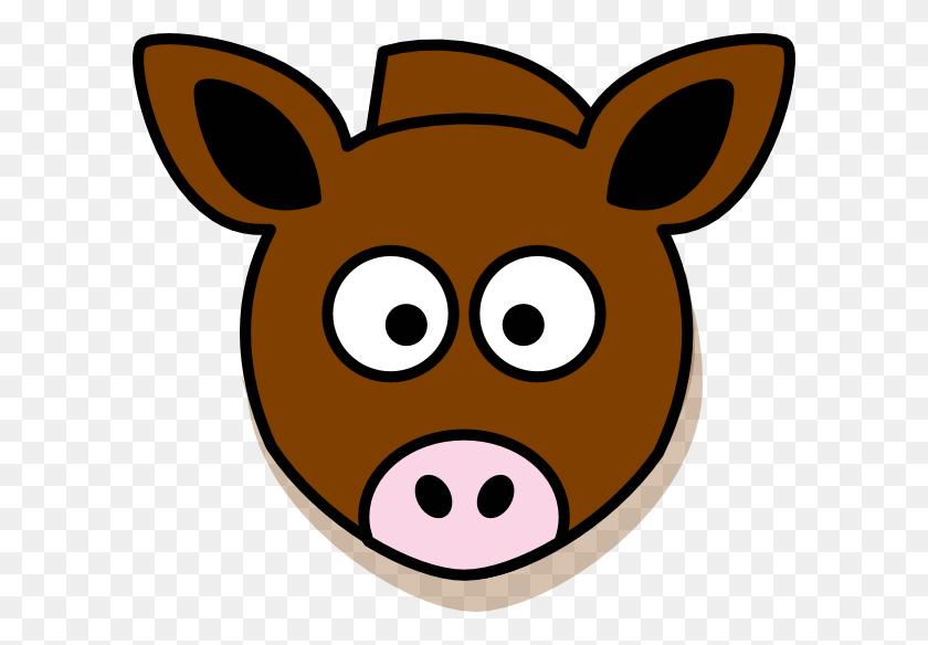 Donkey Clipart Donkey Head - Pig Head Clipart
