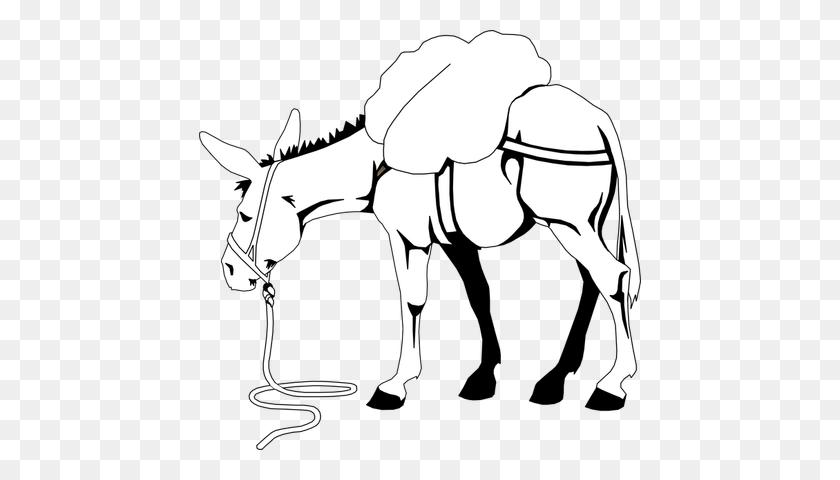 Donkey Head Clip Art - Donkey Clipart