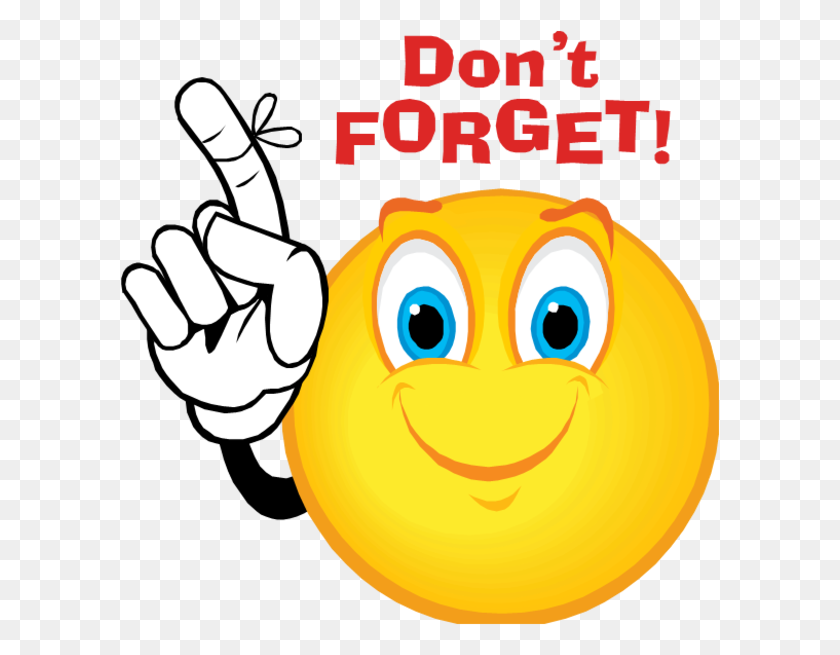 Dont Forget Smiley Free Images - Dont Forget Clip Art