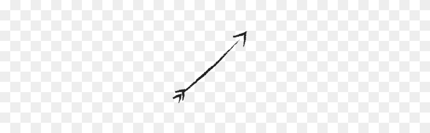 Doodle Arrows Collection Noun Project - Arrow Doodle PNG