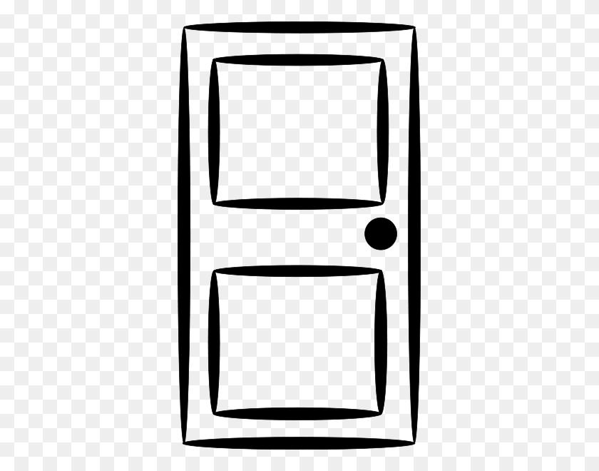 Door Clipart Black And White - Open Door Clipart Black And White