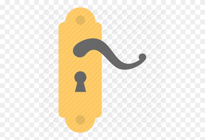 Door Handle, Door Knob, Door Lock, Internal Door Handle, Keyed - Door Knob PNG