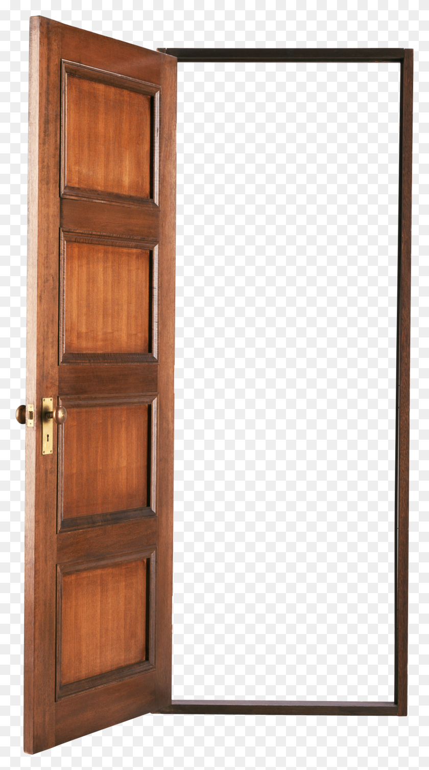Door Png Images, Wood Door Png, Open Door Png - Wood Background PNG