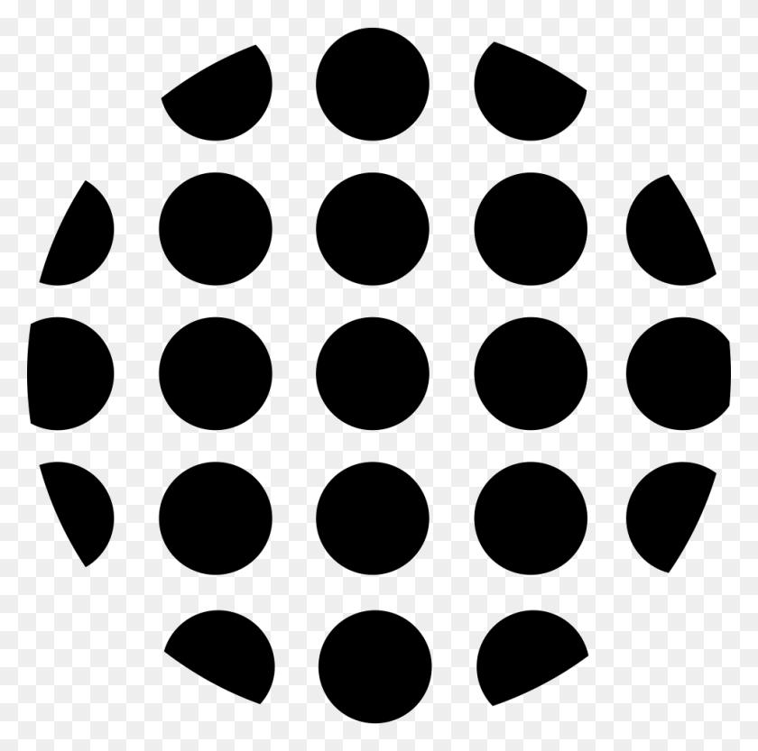 Dots Circular Shape Png Icon Free Download - Polka Dots PNG