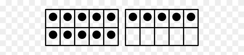 Dots Clipart Vector - Ten Clipart