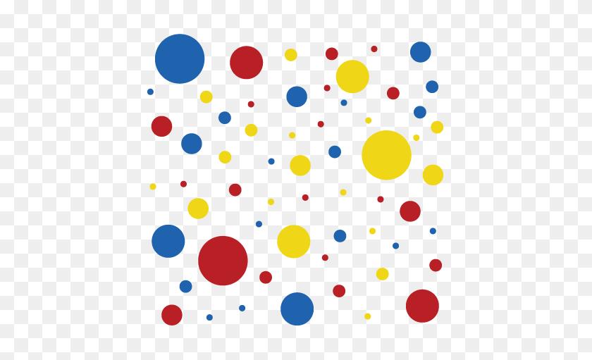 Dots Spots Wall Wall Art Decal - Spots PNG