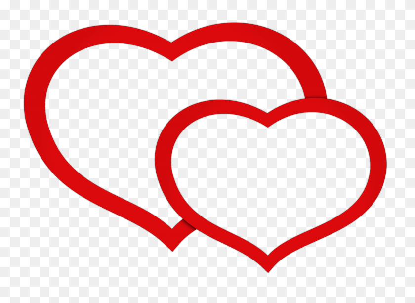 Double Heart Clipart Look At Double Heart Clip Art Images - Point Of View Clipart