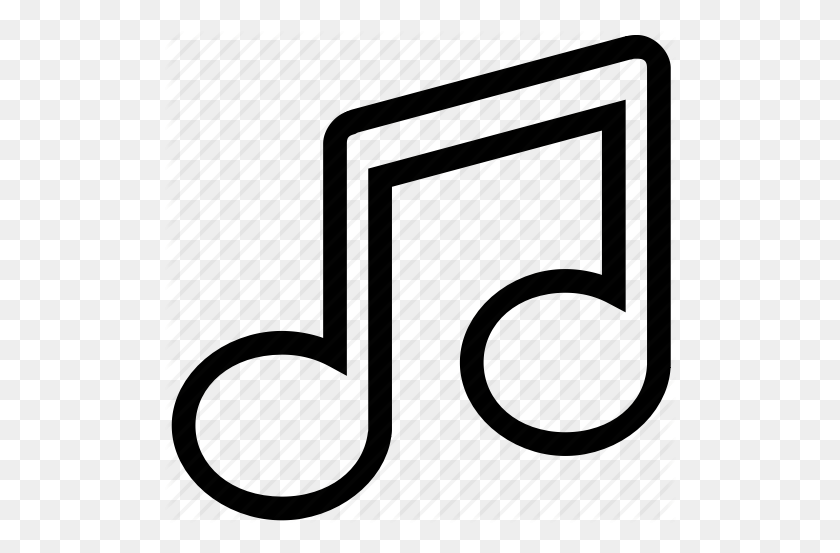Double Music Notes, Music, Music Note, Music Notes, Musical, Notes - White Music Notes PNG