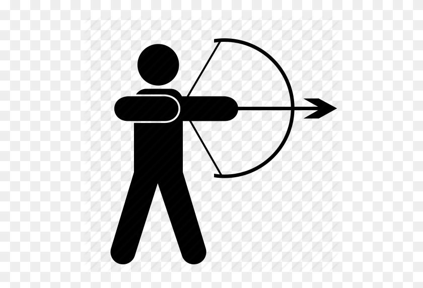 Download Archery Icon Clipart Arrow Archery Clip Art Arrow - Archery Target Clipart