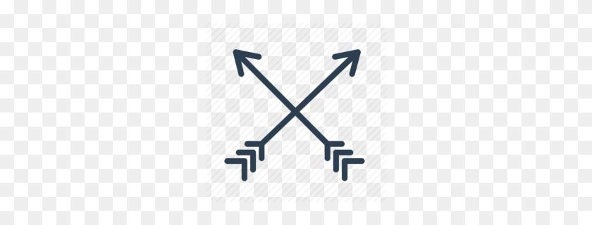 260x260 Download Arrows Crossed Clipart Symbol Arrow Clip Art - Arrow Images Clip Art
