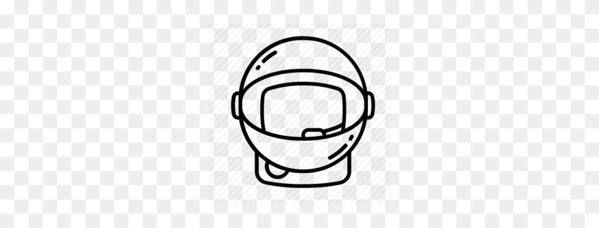 Download Astronaut Face Masks Clipart American Football Helmets - Goal Post Clipart