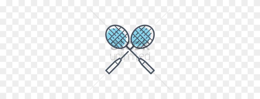 Download Badminton Racket Clipart Racket Badminton Clip Art - Tennis Player Clipart