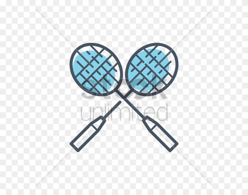Download Badminton Racket Clipart Racket Badminton Clip Art - Tennis Racket Clipart