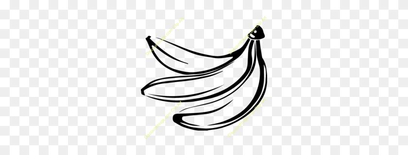 Download Bananas Silhouette Clipart Banana Banana, Illustration - Banana Pudding Clipart