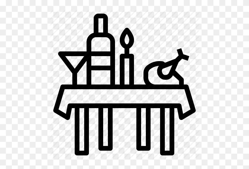 Download Banquet Icon Clipart Buffet Banquet Clip Art - Dinner Table Clipart
