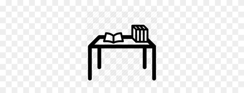 Transparent Student Desks Clipart - Book Is On The Desk, HD Png Download ,  Transparent Png Image - PNGitem