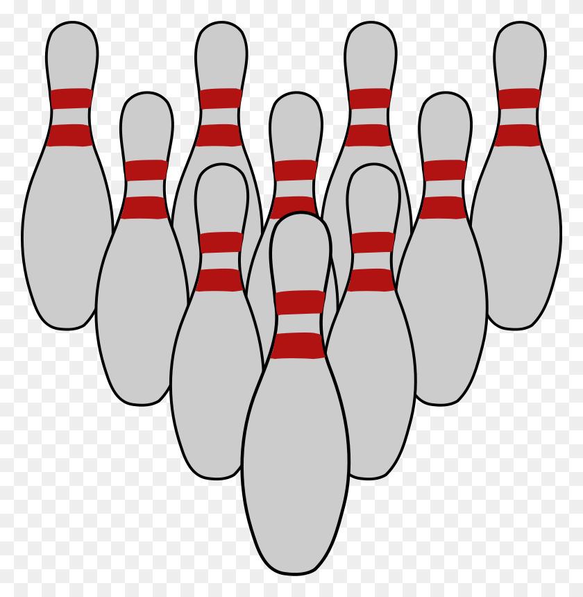 Download Bowling Pins Clipart Bowling Pin Ten Pin Bowling Clip Art - Bowling Images Clip Art