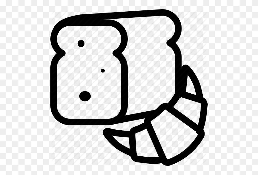Download Bread Clipart Bakery Breakfast Clip Art Bakery - Breakfast Clipart Black And White