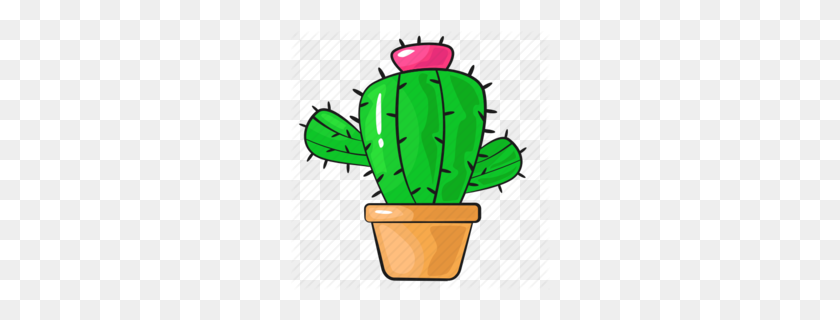 Download Cactus Cartoon Png Clipart Cactus Clip Art Cactus - Pear Clipart