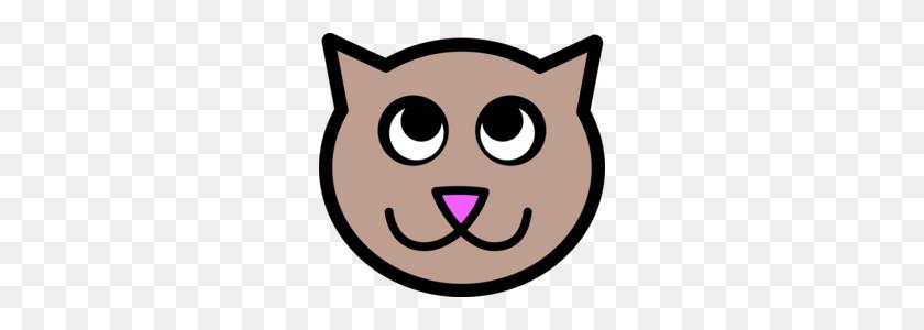 Download Cartoon Cat Face Clipart Cat Kitten Clip Art - Cat Face Clipart