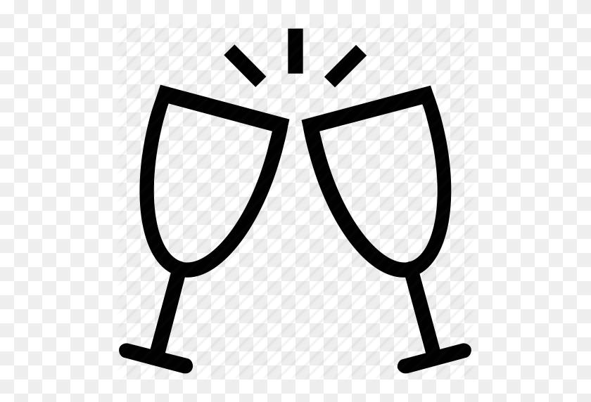 Download Champagne Glasses Icon Clipart Champagne Glass Computer - Toasting Glasses Clipart