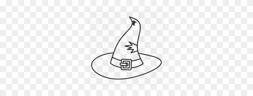 Download Chapeu De Bruxa Para Colorir Clipart Hat Clip Art Hat