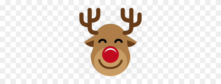 Download Christmas Reindeer Clipart Reindeer Santa Claus Clip Art - Reindeer PNG