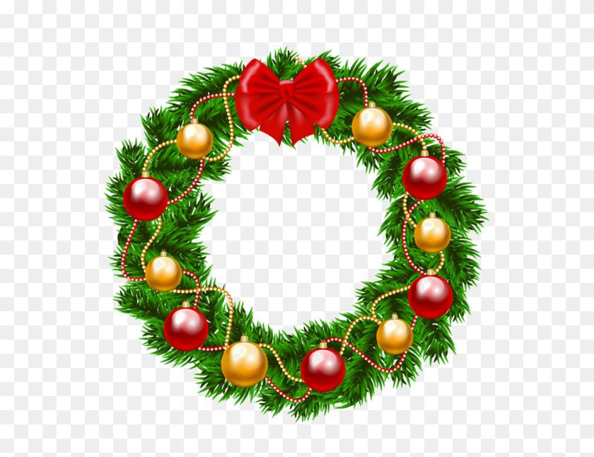 Christmas Wreath Clipart Png Flower Garland Clipart Stunning