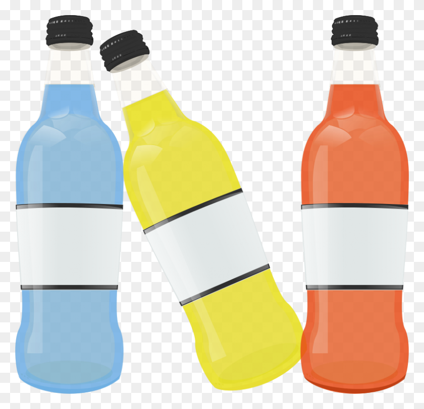 Download Clip Art Bottles Clipart Fizzy Drinks Water Bottles Clip - Plastic Bottle Clipart