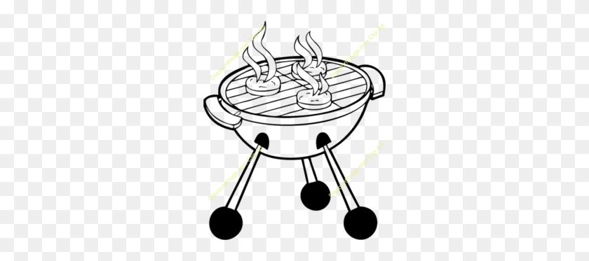 260x313 Download Clip Art Clipart Barbecue Hamburger Clip Art Barbecue - Free Cookout Clipart
