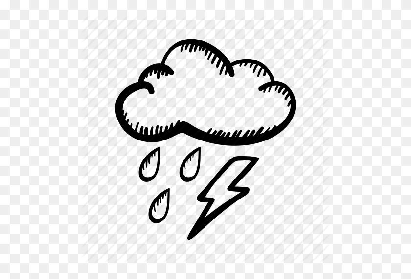 Download Cloud Clipart Cloud Thunderstorm Clip Art Clipart Free - Thunderstorm Clipart