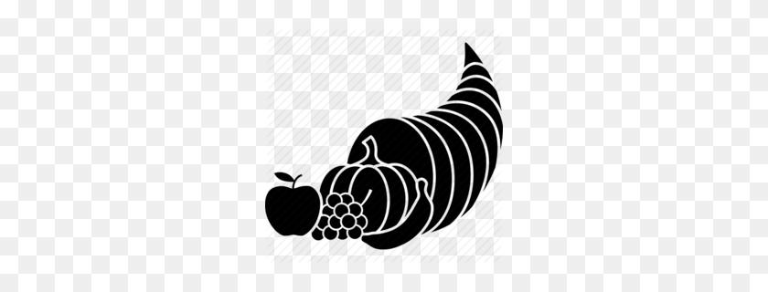 Download Cornucopia Icon Clipart Cornucopia Thanksgiving Clip Art - Thanksgiving Clipart Black And White