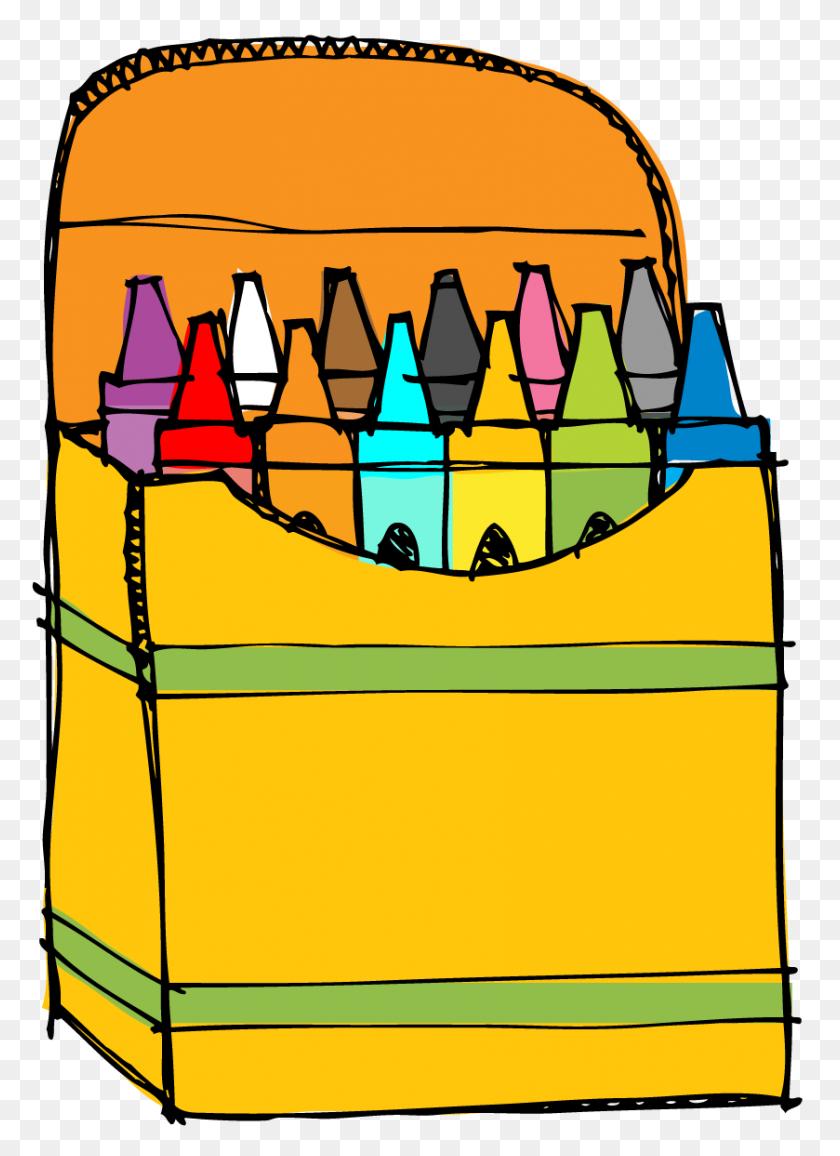 Download Crayon Box Png Clipart Crayon Clip Art - Crayon Box Clipart