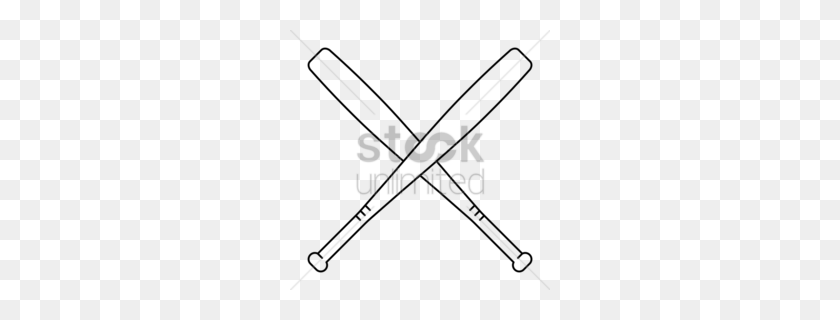 Download Crossed Baseball Bat Clip Art Clipart Baseball Bats Clip - Louisiana Clipart