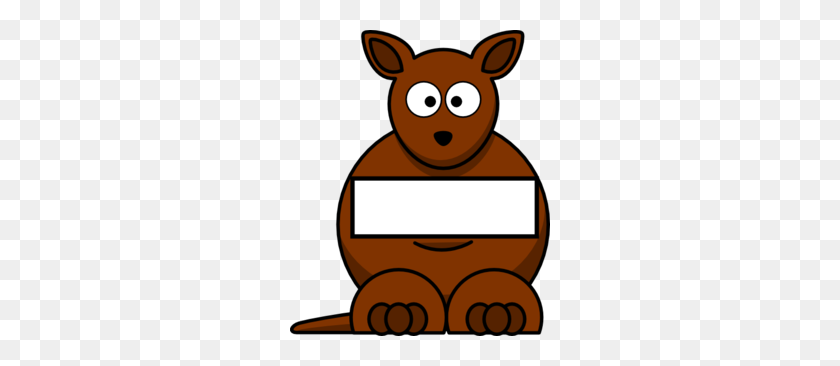Download Cute Cartoon Kangaroo Clipart Kangaroo Clip Art - Kangaroo Clipart Black And White