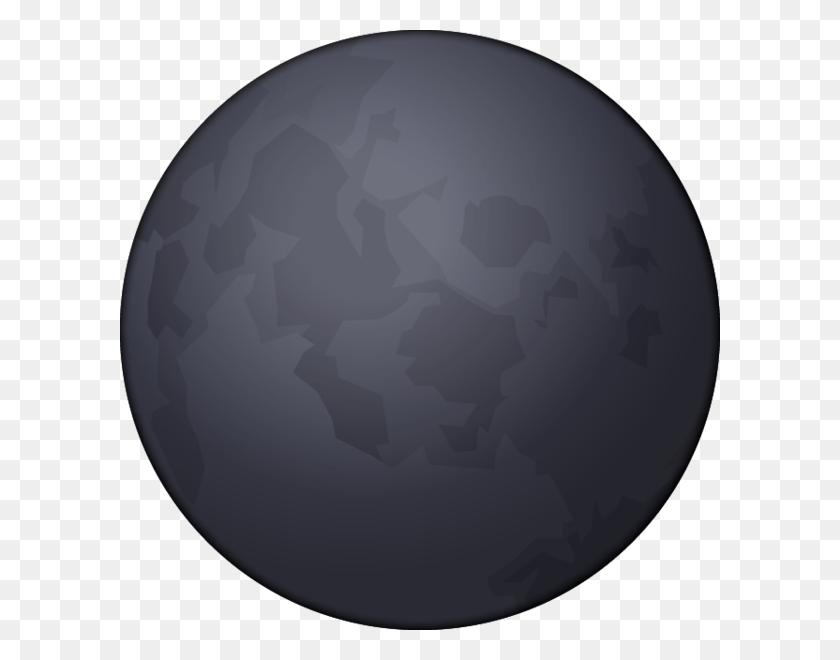600x600 Download Dark Moon Emoji Image In Png Emoji Island - Moon Emoji PNG