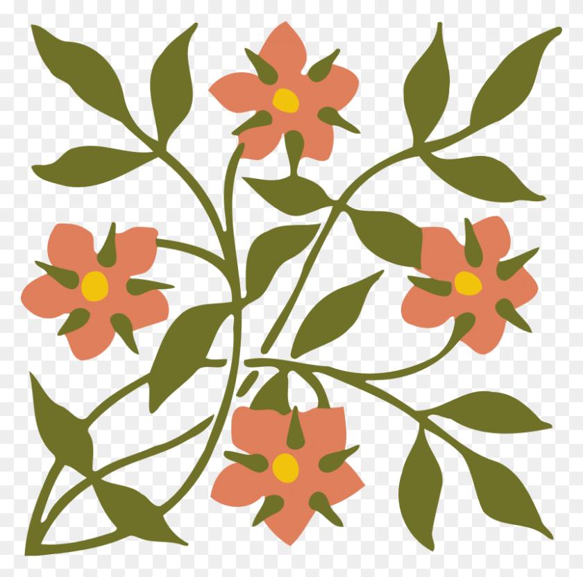 Download Design Clipart Floral Design Tropical Flowers Design - Tropical Flower Clipart