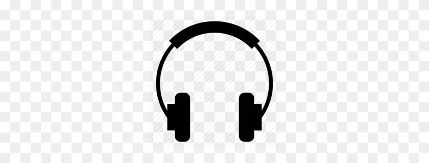 Download Dj Headphones Png Clipart Headphones Clip Art - Headphones Clipart Black And White