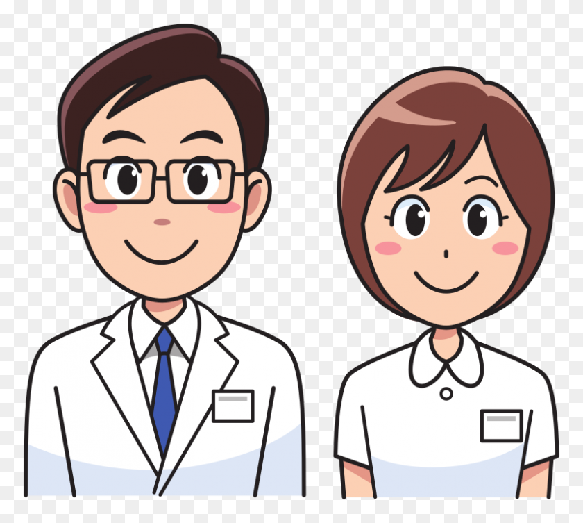 Download Doctor Male And Female Png Clipart Physician Nursing Clip - Male And Female Clipart