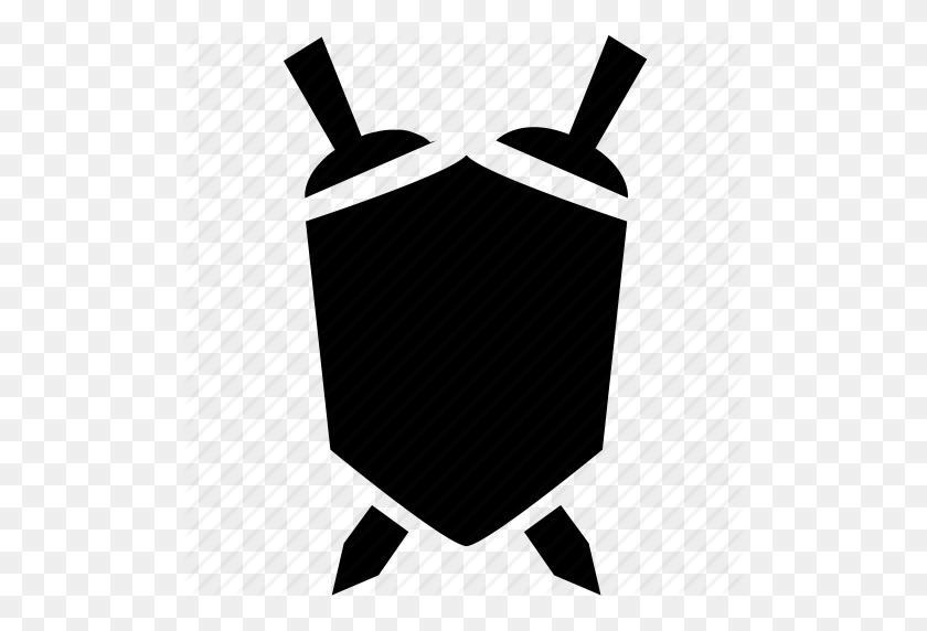 Download Emblem Clipart Shield Clip Art Shield, Sword, Emblem - Sword Clipart Black And White