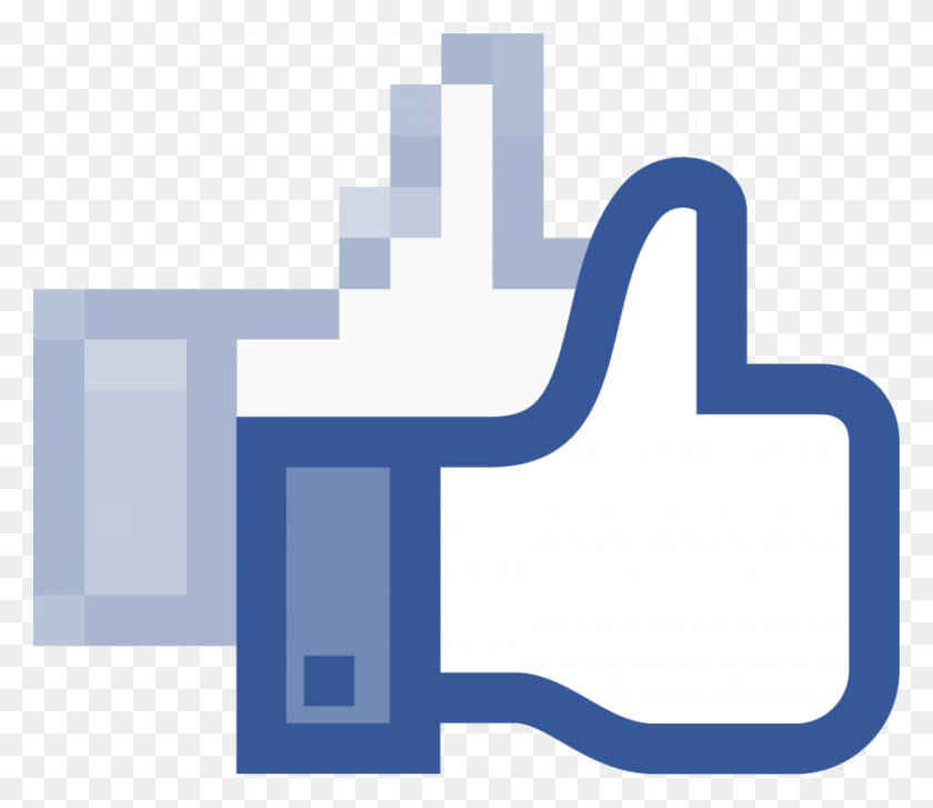 900x770 Download Facebook Like Vector Clipart Like Button Clip Art - Free Download Clipart Images