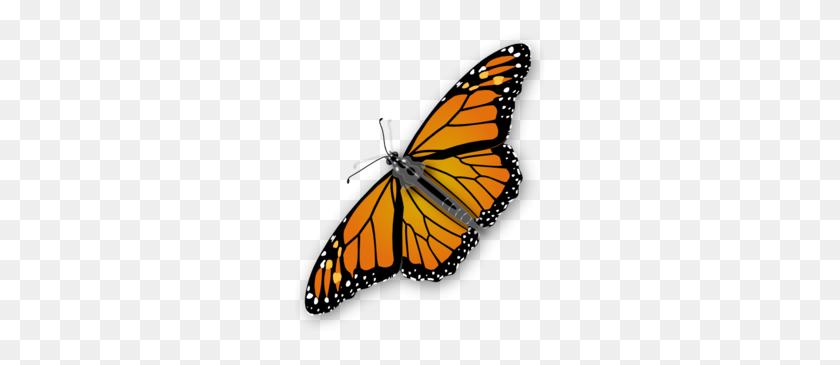 Download Fictional Character Clipart Monarch Butterfly Moth Insect - Butterfly Clipart Transparent