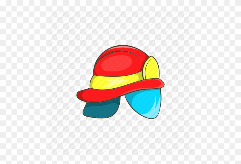 Download Fire Helmet Cartoon Clipart Firefighter's Helmet Hat - Firefighter Hat Clipart