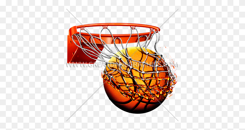 Download Flaming Basketball Png Clipart Basketball Clip Art - Flaming Basketball Clipart