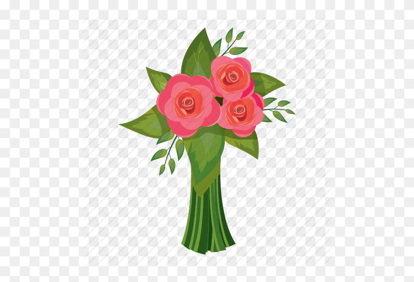 Download Flower Bouquet Cartoon Png Clipart Flower Bouquet Clip Art - Flower Cartoon PNG