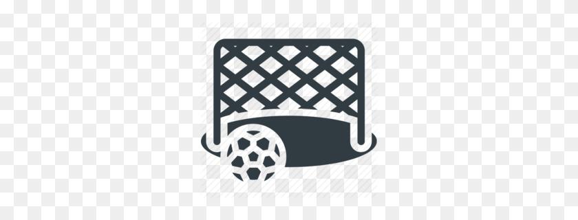 Download Football Net Icons Clipart Goal Net Football White - Football Goal Clipart