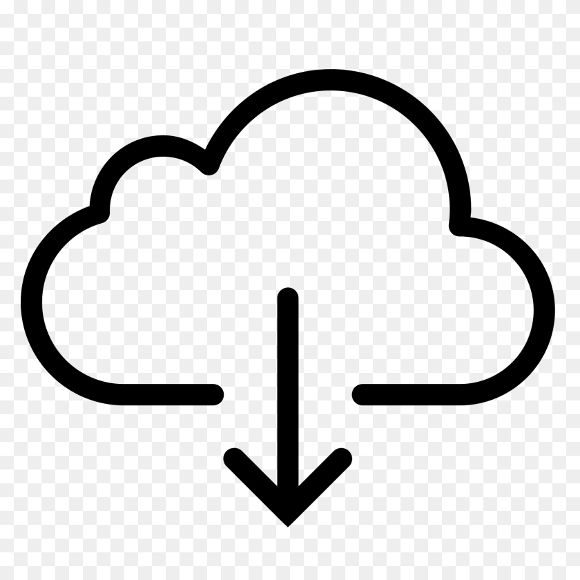 Download From Cloud Icon - Download Icon PNG
