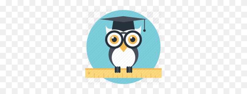 Download Graduate Owl Clipart Owl Clip Art Owl, Illustration - Owl Teacher Clipart
