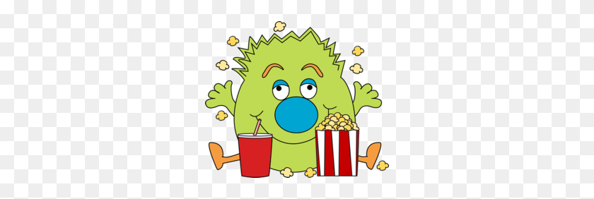Download Halloween Popcorn Clipart Popcorn Clip Art - Popcorn Box Clipart