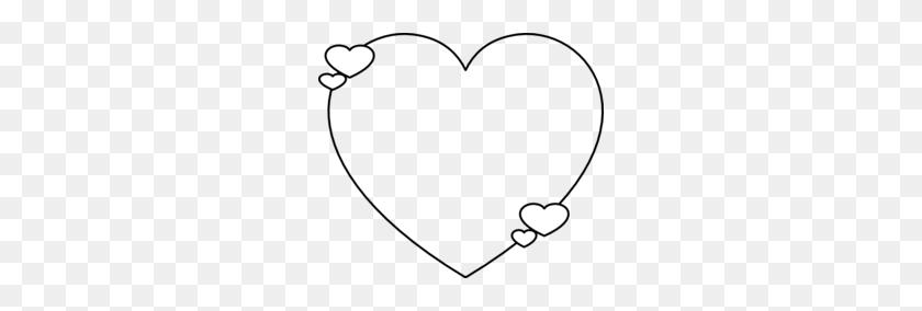 Download Heart Shape Outline Clipart Shape Heart Clip Art - Heart Outline Clipart Black And White